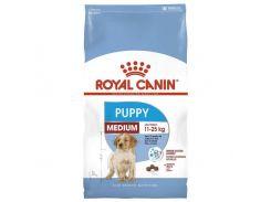 Сухой корм Royal Canin Medium Puppy для щенков средних пород до 12 месяцев, 15 кг