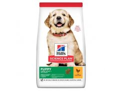 Сухой корм Hills Science Plan Puppy Large Breed для собак с курицей, 14.5 кг