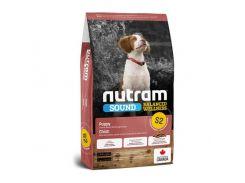Сухой корм S2 Nutram Sound Balanced Wellness Natural Puppy для щенков, с курицей и цельными яйцами, 11.4 кг