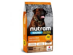 Сухой корм S8 Nutram Sound Balanced Wellness Large Breed Adult для взрослых собак крупных пород, с курицей и овсянкой, 11.4 кг