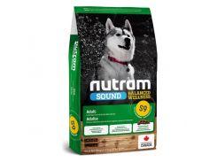 Сухой корм S9 Nutram Sound Balanced Wellness Natural Lamb Adult для взрослых собак, с ягненком и шлифованым ячменем, 11.4 кг