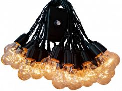 Гирлянда уличная  Retro Light с влагозащитой  20 м 41 лампочка (07/LITW004) (IB32LITW004)