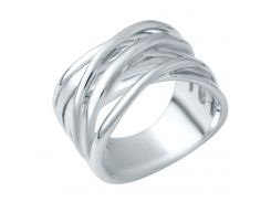 Серебряное кольцо Silver Breeze без камней 18 размер (1941126-18)