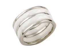 Серебряное кольцо Silver Breeze с керамикой 17.5 размер (0482057)