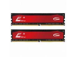 Оперативная память для компьютера DDR4 16GB (2x8GB) 2400 MHz Elite Plus Red Team TPRD416G2400HC16DC01 (U0164944)