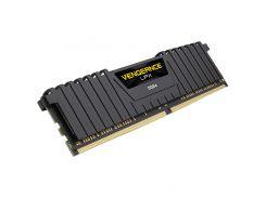 Оперативная память для компьютера DDR4 16GB 2400 MHz Vengeance LPX Black Corsair CMK16GX4M1A2400C14 (U0181029)