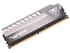 Оперативная память для компьютера DDR4 16GB 2400 MHz Elite Gray Patriot PVE416G240C6GY (U0255254)