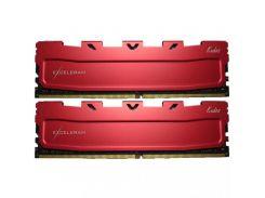 Оперативная память для компьютера DDR4 16GB (2x8GB) 3000 MHz Red Kudos eXceleram EKRED4163016AD (U0264434)