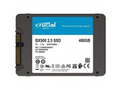 Накопитель SSD Crucial BX500 480GB 2.5 SATAIII 3D NAND TLC CT480BX500SSD1 (U0315314)