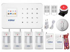 Беспроводная GSM сигнализация для дома, дачи, гаража комплект Kerui alarm G18 (Economy House 4) 433мГц (DI513445395670)