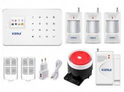 Беспроводная GSM сигнализация для дома, дачи, гаража комплект Kerui alarm G18 (Economy House3) 433мГц (DI513445395673)
