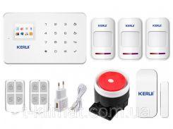 Комплект сигнализации Kerui G18 для 2-комнатной квартиры (DI513445395672)