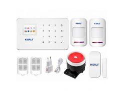 Комплект сигнализации Kerui G18 для 1-комнатной квартиры (DI513445395674)