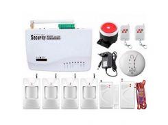 Беспроводная GSM сигнализация для дома, дачи, гаража комплект Kerui alarm G01 (Profi 4) 433мГц (DI5134453956347)