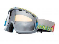 Маска гірськолижна Shred Monocle Robot Boogie Grey (119007)