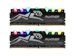 Модуль памяти для компьютера DDR4 16GB (2x8GB) 2666 MHz Panther Rage RGB Silver Apacer (EK.16GAV.GQN