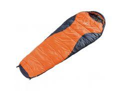 Спальный мешок Deuter Dream Lite 400 sun orange-midnight левый (49328 8830 1)