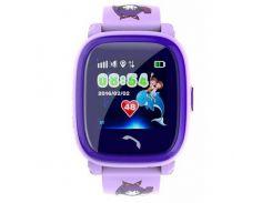 Детские смарт-часы GoGPS ME K25 Purple (К25ПР)