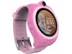 Смарт-часы GoGPS ME K19 Розовые (К19РЗ)
