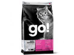 Сухой корм GO! Refresh + Renew Chicken Cat Recipe для котят и кошек со свежей курицей, фруктами и овощами, 7.26 кг
