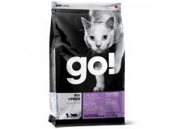 Беззерновой корм GO! Fit + Free Grain Free Chicken, Turkey, Duck Cat Recipe для котят и кошек, с курицей, индейкой, уткой и лососем, 7.26 кг