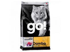Беззерновой корм GO! Sensitivity + Shine Grain Free Duck Cat Recipe для котят и кошек со свежей уткой, 7.26 кг