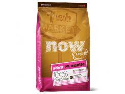 Беззерновой корм NOW Fresh Grain Free Adult Cat Recipe для взрослых кошек с индейкой, уткой и лососем, 7.26 кг