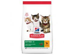 Сухой корм Hills Science Plan Kitten для котят с курицей, 7 кг
