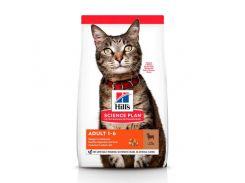 Сухой корм Hills Science Plan Adult для кошек с ягненком и рисом, 10 кг