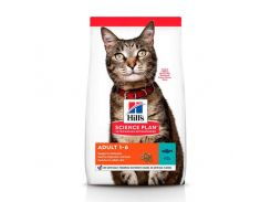 Сухой корм Hills Science Plan Adult для кошек с тунцом, 10 кг