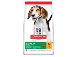 Сухой корм Hills Science Plan Puppy Medium для щенков с курицей, 14 кг
