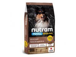 Сухой корм T23 Nutram Total Grain-Free Turkey, Chiken & Duck для собак, с индейкой и курицей, без зерновой, 11.4 кг