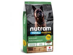 Сухой корм T26 Nutram Total Grain-Free Lamb & Lentils для собак, с ягненком и чечевицей, без зерновой, 11.4 кг