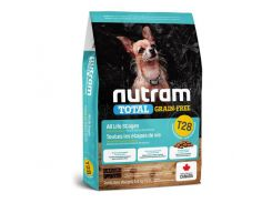 Сухой корм T28 Nutram Total Grain-Free Salmon & Trout Small Breed для мелких пород собак, с лососем и форелью, без зерновой, 5.4 кг