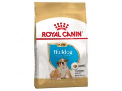 Сухой корм Royal Canin Bulldog Puppy для щенка бульдога до 12 месяцев, 12 кг