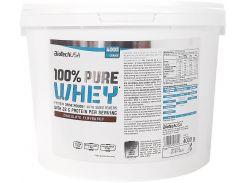 Протеин BioTechUSA 100% Pure Whey 4000 g /142 servings/ Chocolate 4000 г белый