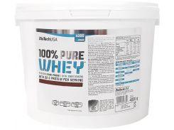 Протеин BioTechUSA 100% Pure Whey 4000 g /142 servings/ Bourbon vanilla 4000 г