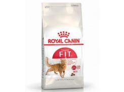 Корм для взрослых кошек Fit бывающих на улице Royal Canin Повседневный 10 кг