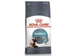 Корм для кошек Hairball Care для уменьшения образования комочков шерсти Royal Canin Повседневный 10 кг