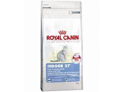 Корм для домашних кошек Indoor 27 до 7 лет Royal Canin Повседневный 10 кг