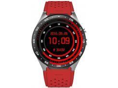 Смарт-часы King Wear KW88 Red (52953)