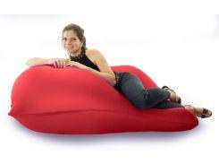 Кресло-мешок Beans Bag Бабл Гам 150*100 см Красный (hub_CBwA49593)