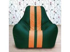 Кресло-мешок груша Beans Bag Ferrari Микро-рогожка 85*95*105 см Зеленый (hghv9y)