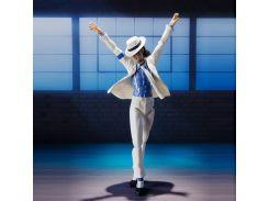 Фигурка Michael Jackson ReStEq action фигурка Короля Поп музыки 15 см Белый (90046)
