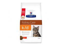 Сухой корм Hills Prescription Diet Feline k/d Kidney Care для кошек с заболеванием почек и сердечной недостаточности, 5 кг