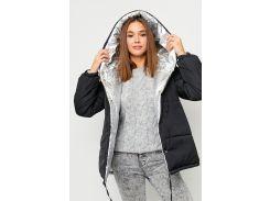 Двухсторонняя зимняя куртка KARREE Дени S-M Черный (KAR-KV00077)