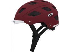Шлем велосипедный ABUS HYBAN M/L 56-61 Marsala Red 826450