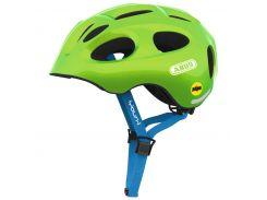 Велосипедный детский шлем ABUS YOUN-I MIPS M 52-57 Sparkling Green 388149
