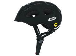 Велосипедный детский шлем ABUS YOUN-I MIPS M 52-57 Velvet Black 388125