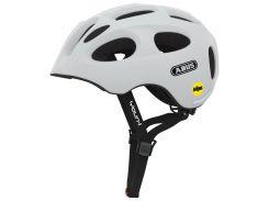 Велосипедный детский шлем ABUS YOUN-I MIPS M 52-57 Polar Matt 388101